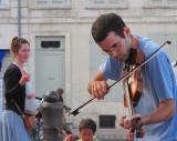 le violoniste sur les quais