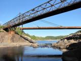 les deux ponts de rouille