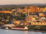 le centre ville de Chicoutimi