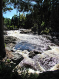 la rivière turbulente