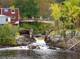 le vieux pont à la chute
