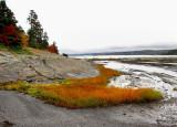 Marée basse dans la baie de Métis