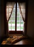 maison LAmontagne , la fenêtre à la gerbe