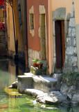 escalier-quai à Annecy