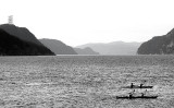 2 Kayaks sur le fjord