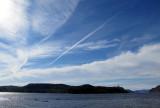 jet sur le fjord