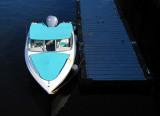 le bateau bleu ciel