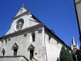 la cathédrale et l'église