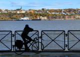 traversée en vélo