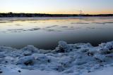 Le Saint-Laurent  d'eau et de glace