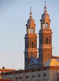 les deux clochers de la vieille ville