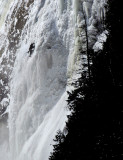 alpiniste de glace