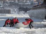 #45 arrivée sur  la glace