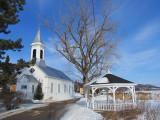 l'église et le pavillon