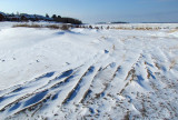la plage de neige,  Rimouski