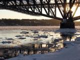 Le pilier du pont
