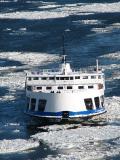 La traversée dans les glaces