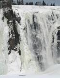 la Montmorency en hiver