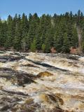Rivière Petite décharge à Alma
