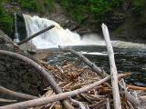 Le Sault Mc Kenzie sur la rivière Trois-Pistoles