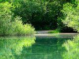 Haute-Savoie , le reflet sur le lac