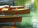 Les barques du lac d'Annecy