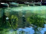 Annecy, le reflet du canal