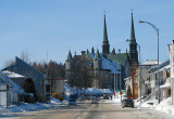 Jonquière et son église