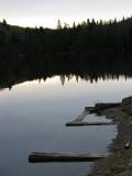l'ancien quai du lac St-Joseph