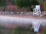 reflets de la chaise