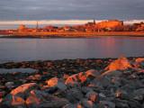 lumière du soir à Rimouski