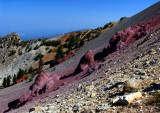 Magee Peak Ridgeline Colors