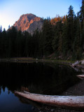 Magee Lake sunrise and Red Cliff
