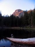 Magee Lake sunrise and Kelly