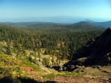 View NE in Thousand Lakes Wilderness