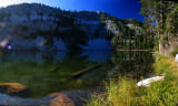Long Gulch Lake Panorama