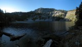 Trail Gulch Lake Panorama