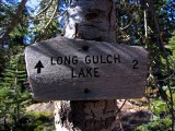 Long Gulch Lake 2 Miles