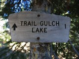 Trail Gulch Lake 1 Mile