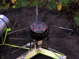 MSR Firefly Stove fired up