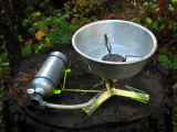 MSR Firefly Stove and windscreen bowl