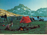 Thousand Island Lake and Banner Peak campsite- 1970s