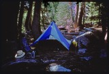 Cliff Lake Campsite - Marble Mtn Wilderness