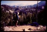 Dave looking towards Fremont Peak