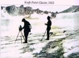 Knife Point Glacier 1922