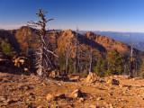 Red Rock Ridge made of peridotite