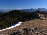 View south along Big Ridge and Mt Shasta