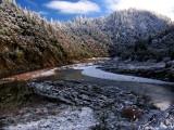 Where the Klamath River meets Dillon Creek, and a legend