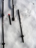 Black Diamond Alpine Carbon poles can break - closeup