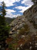 PCT across Peak 7646